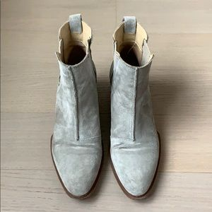 Rag & Bone Walker Boot - cemento suede size 9/39